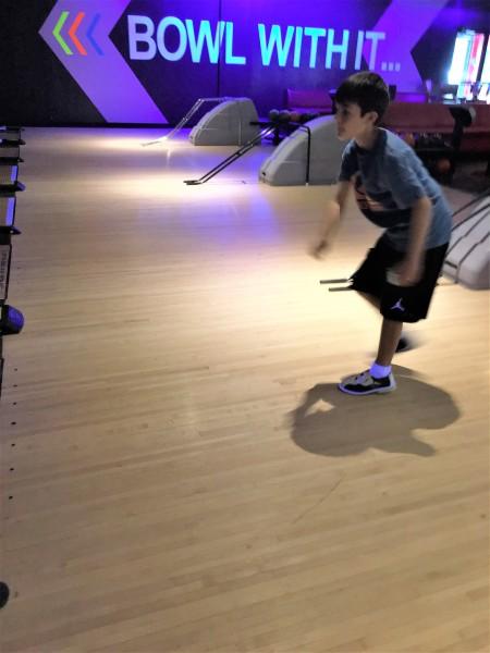 bowling toss